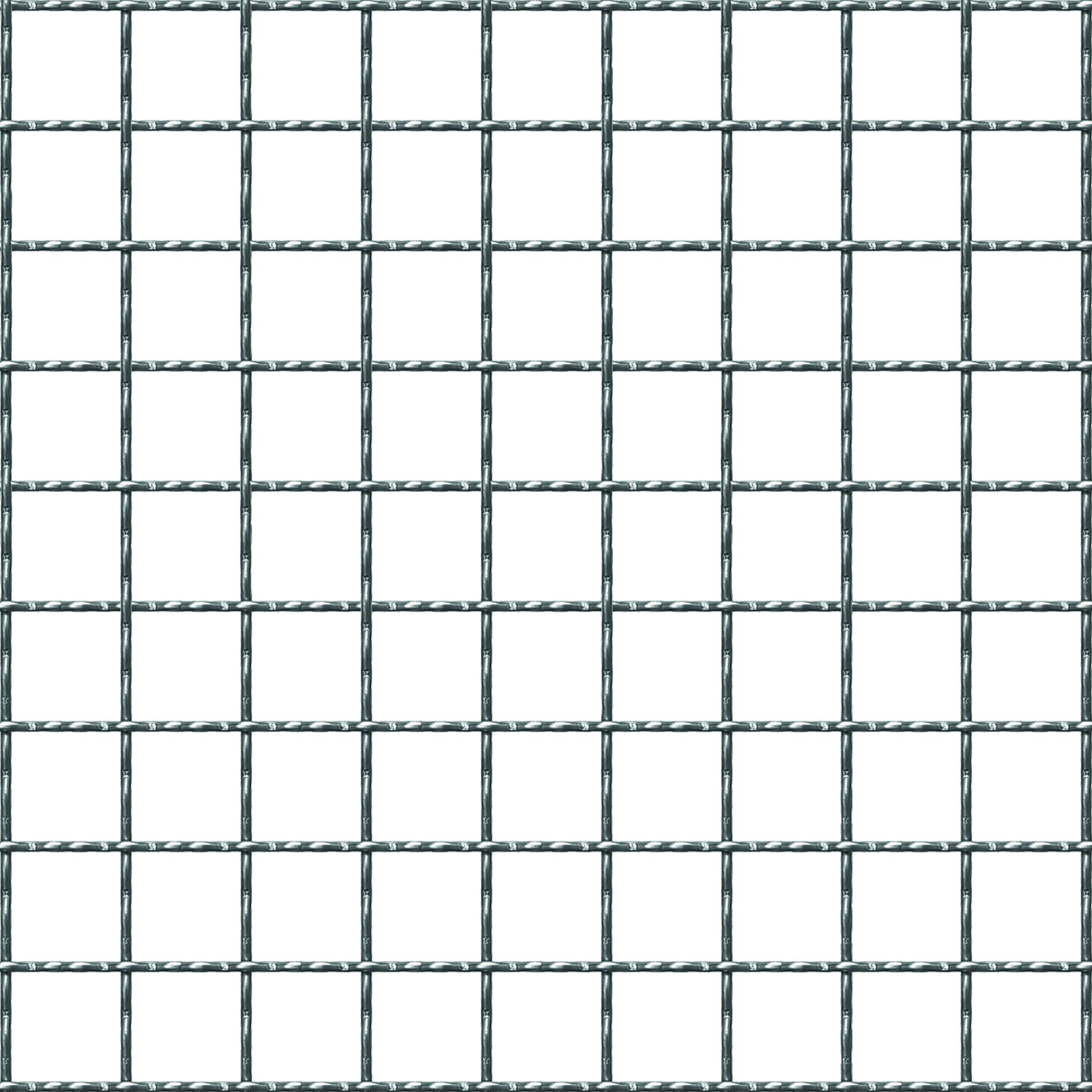 Beeld of Gegolfde draadnet 20 x 20
