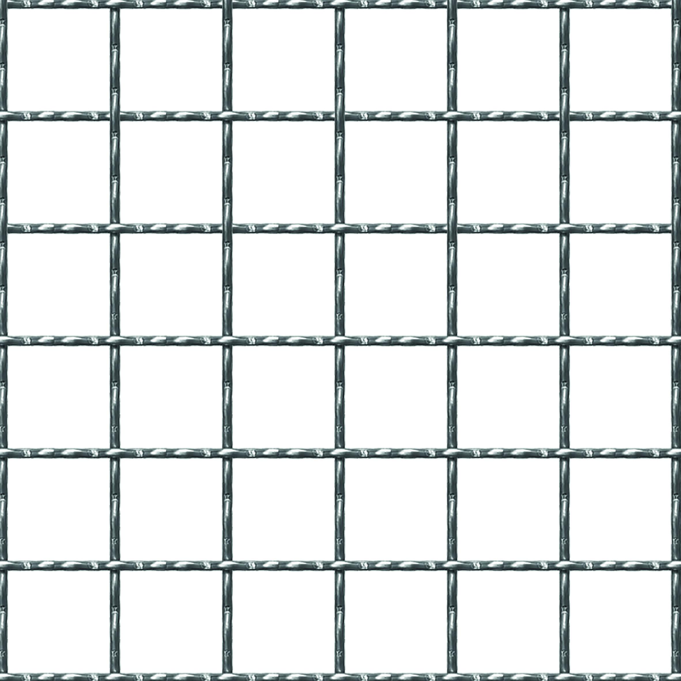Beeld of Gegolfde draadnet 30 x 30